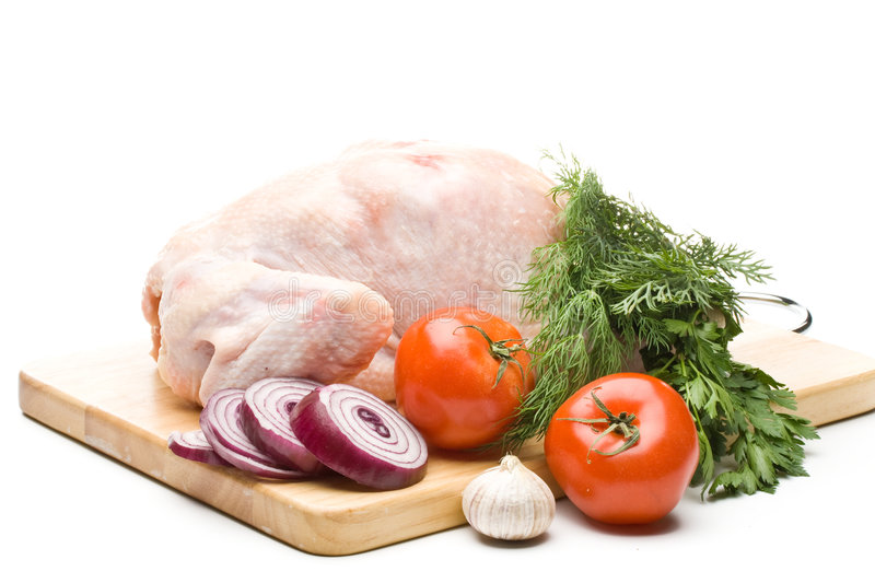 Download Fresh Chicken With Vegetables Stock Photo - Image of greens, nutrition: 6514752