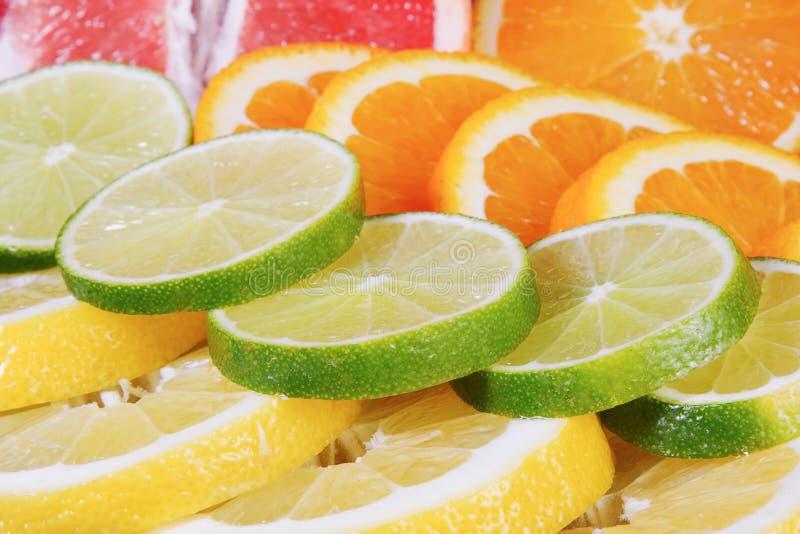 Download Fresh Citrus  On Blue Background Stock Photo - Image: 83702066