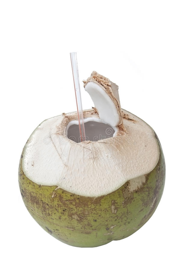 Fresh coconut royalty free stock photos