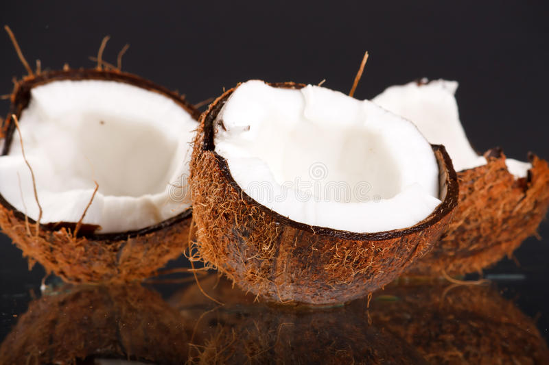 Download Fresh coconuts stock photo. Image of vegetarian, tropical - 15535366