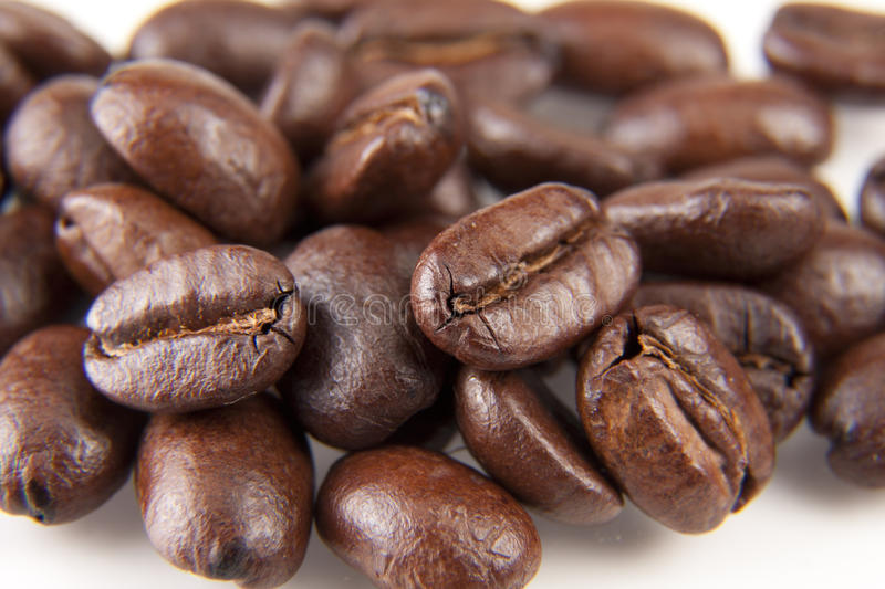 Download Fresh Coffee Beans stock image. Image of coffee, brown - 25605499