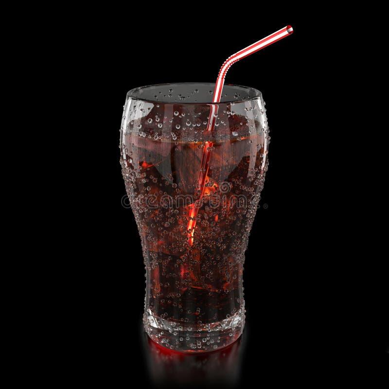 Fresh cola royalty free illustration