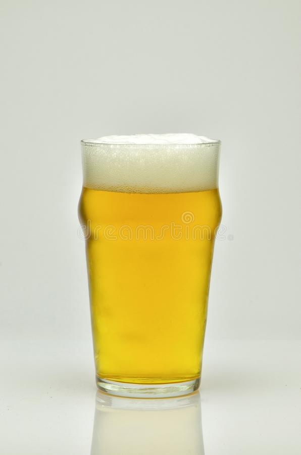fresh and cold beer stock photo