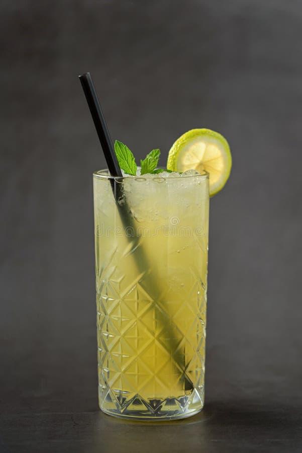 Fresh cold lemonade royalty free stock image