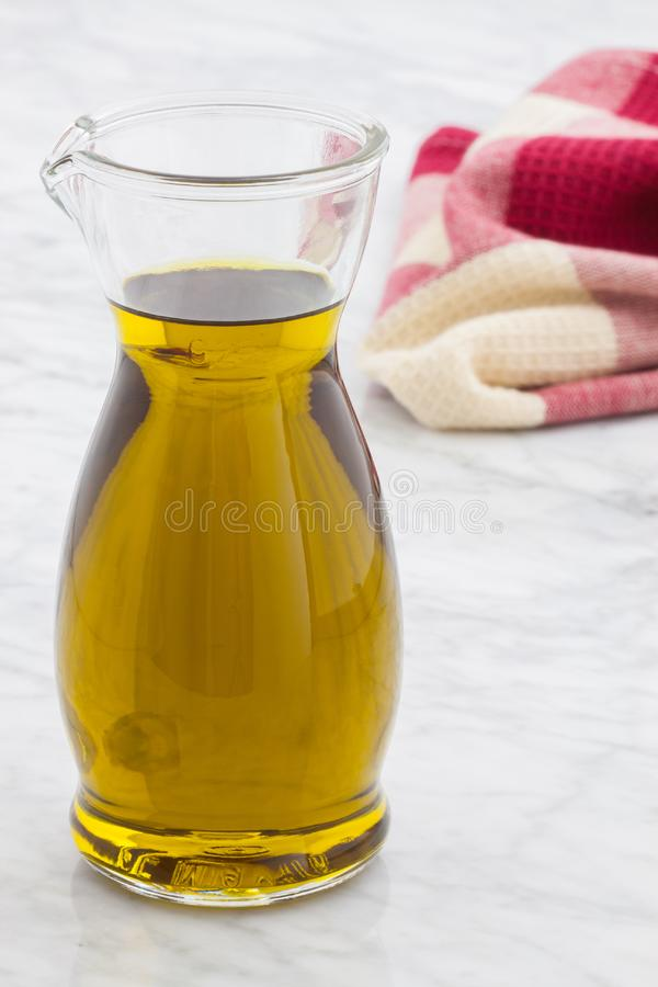 Fresh olive oil royalty free stock photography