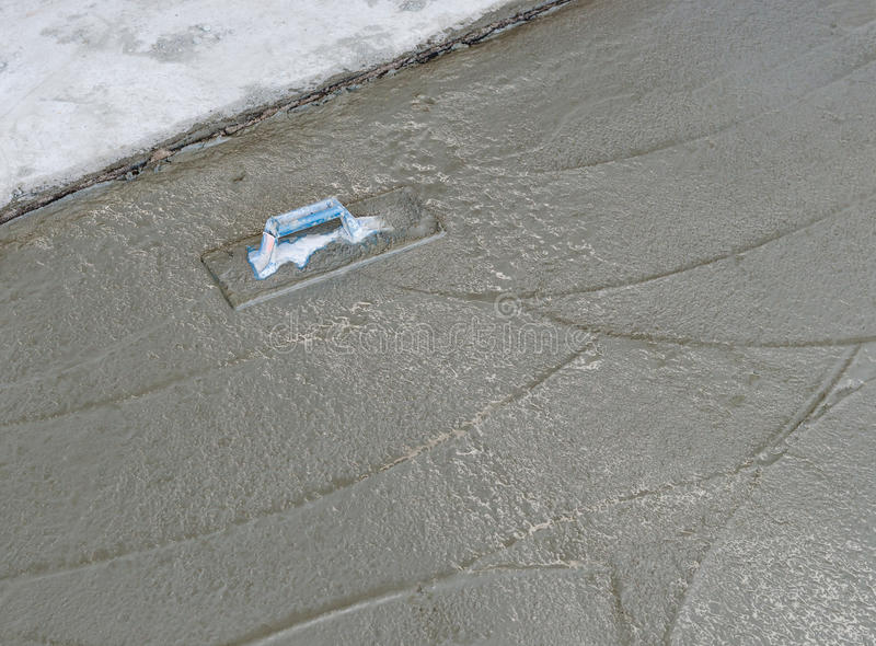 Fresh concrete royalty free stock images