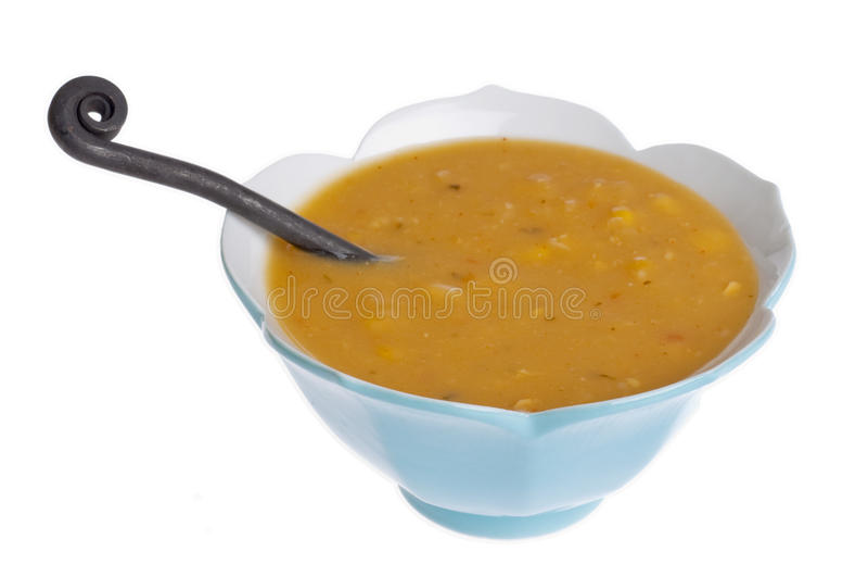 Fresh Corn Chowder Royalty Free Stock Photography
