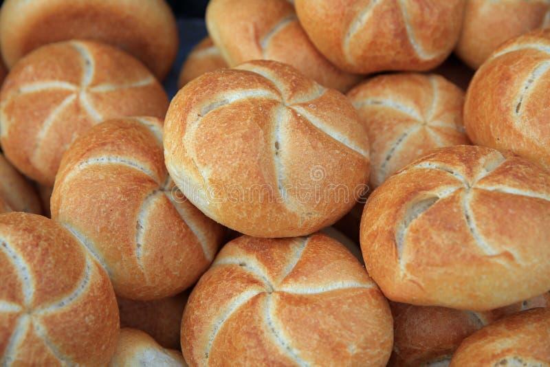 Fresh and crusty german Bread stock photo