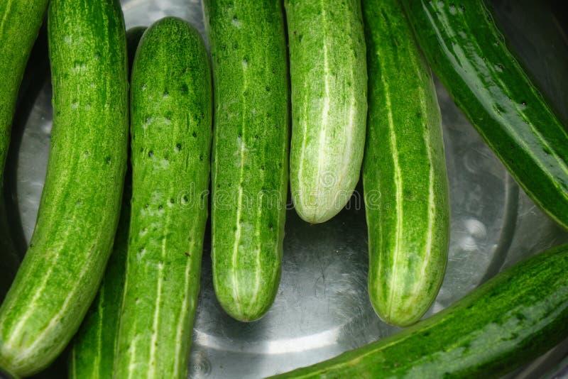 Fresh cucumber stock images