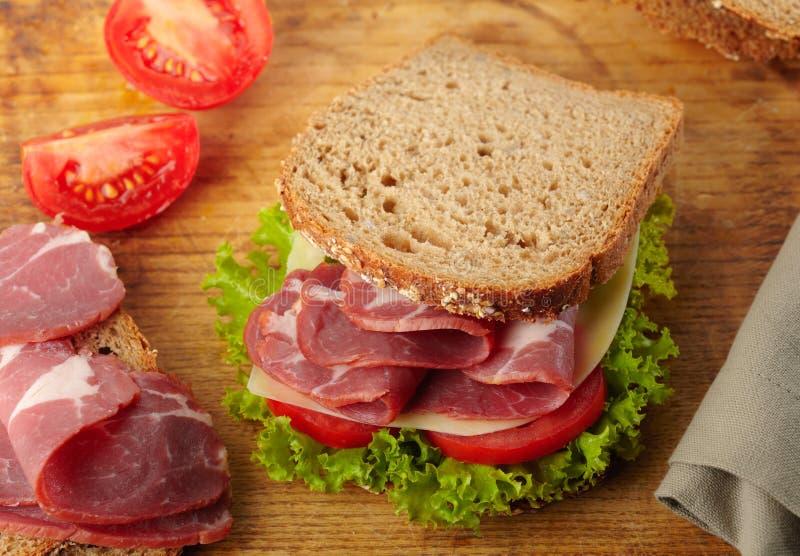 Download Fresh deli sandwich stock photo. Image of eat, ready - 27299856