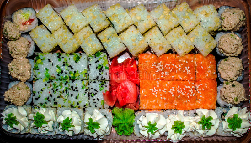 Download Fresh and delicious maki stock image. Image of fish, japan - 83721383