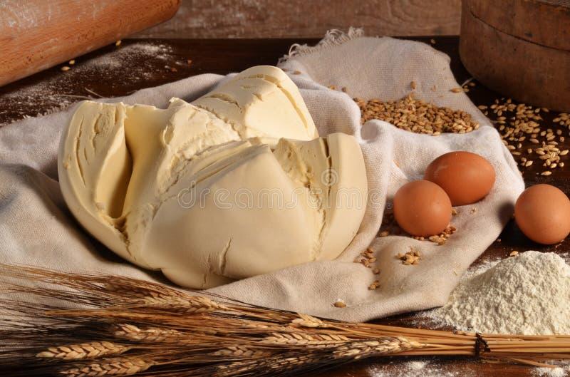 Fresh dough stock images