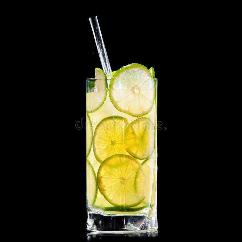Download Fresh Drink On Black Background Stock Image - Image: 23358557