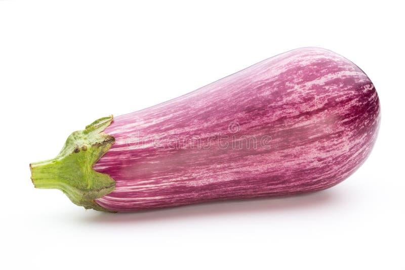 Fresh eggplants, aubergine on a white background. Fresh aubergine on a white background stock photo