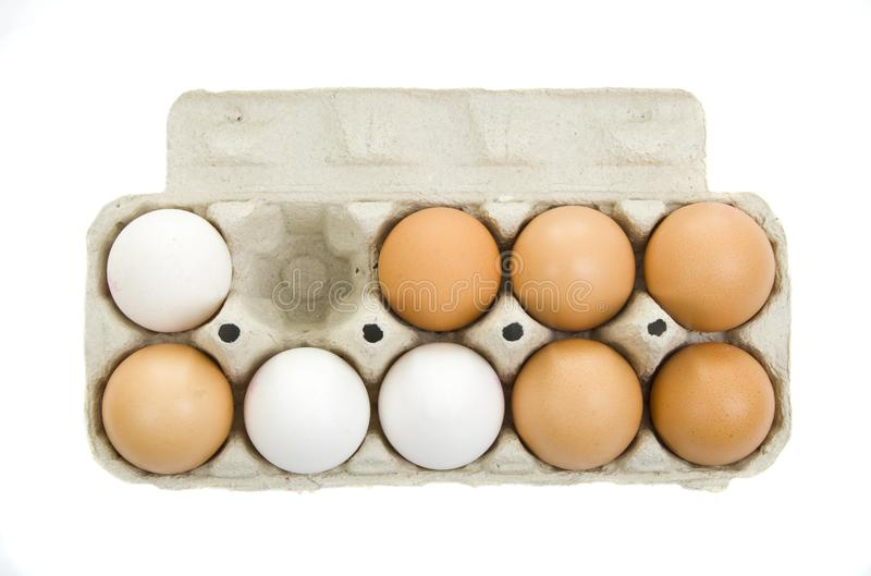 Download Fresh eggs stock image. Image of white, food, glair, crust - 6162017