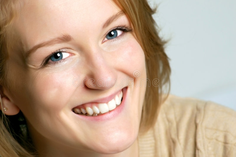 Download Fresh Face stock image. Image of smile, background, look - 7417445