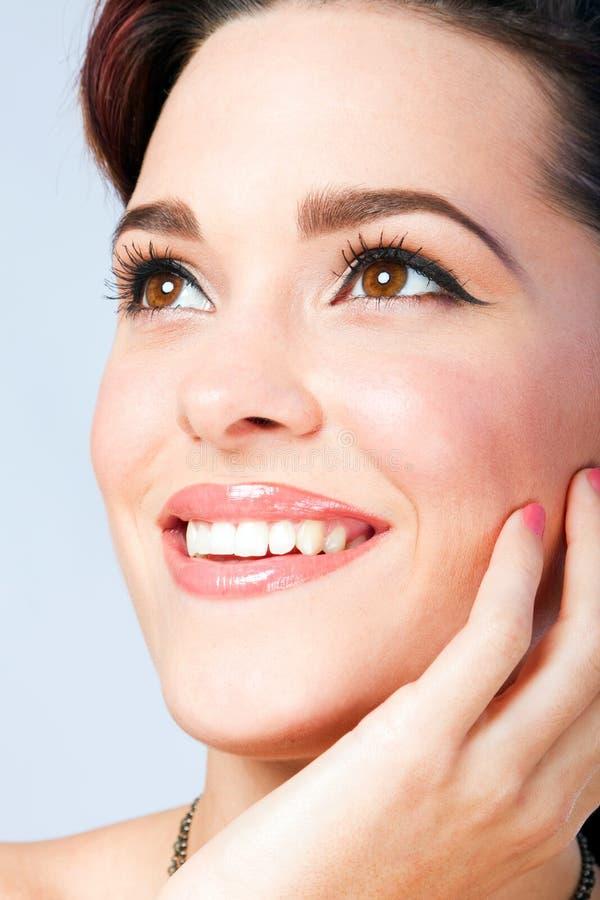 Fresh Face Beauty Stock Image