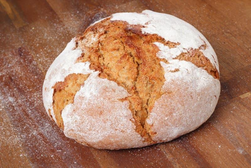 Fresh farmhouse bread royalty free stock photography
