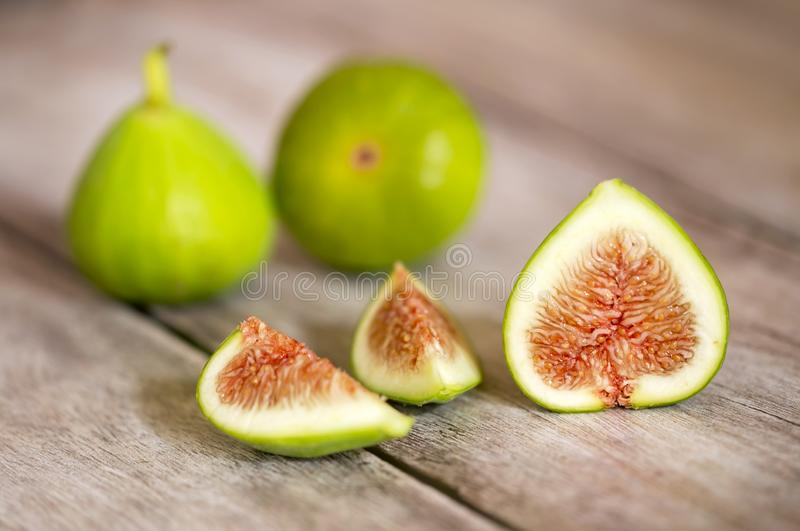 Fresh fig fruits, healthy eating royalty free stock photos