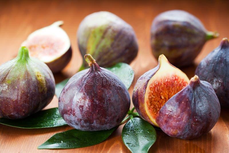 Fresh figs stock image