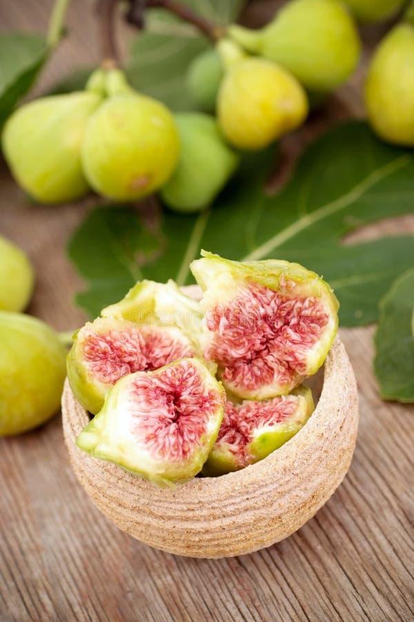 Download Fresh figs stock image. Image of sweet, yellow, half, bowl - 6166385