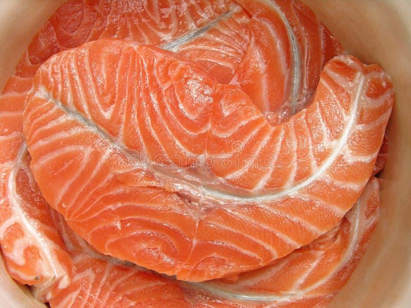 Fresh Fish Fillet Royalty Free Stock Photos