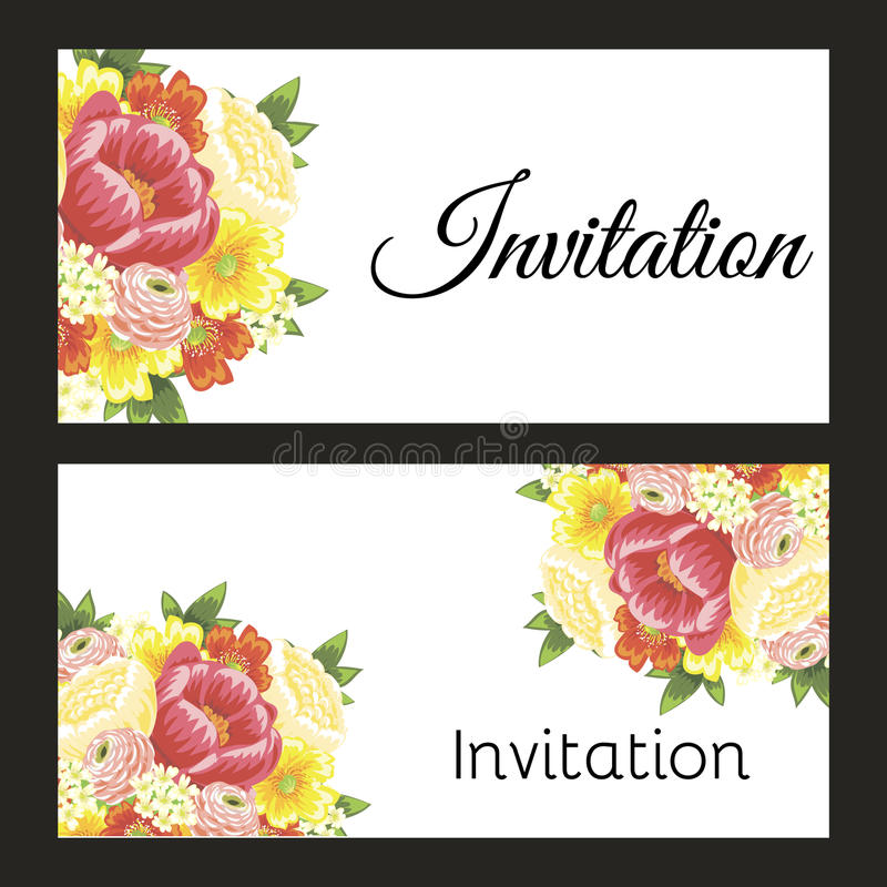 Download Fresh flower background stock illustration. Illustration of contemporary - 33412613