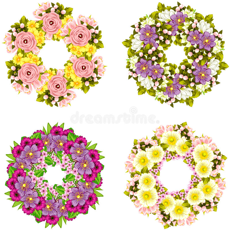 Fresh flower background stock photos