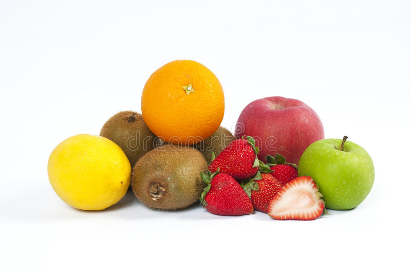 Fresh Fruit. Some high vitamin C and A fruit stock photo