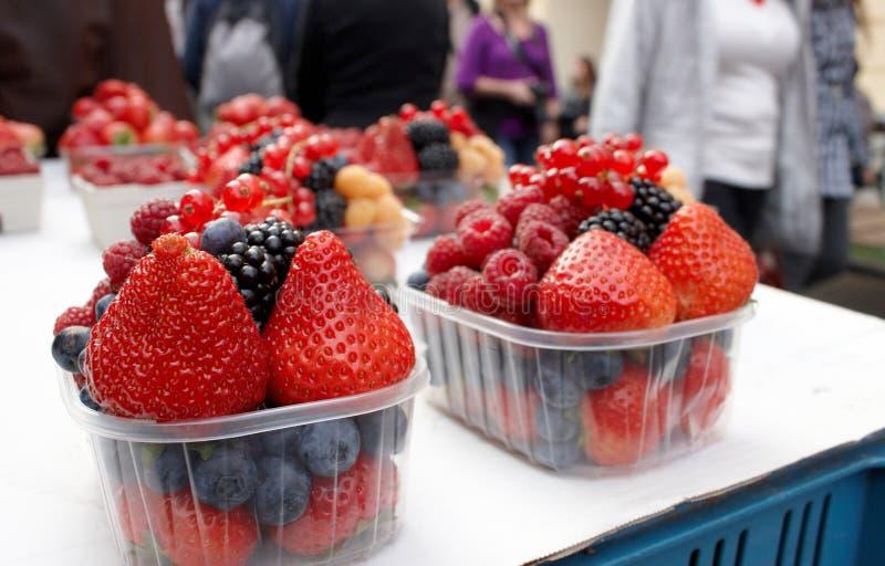 Fresh fruit berries royalty free stock image