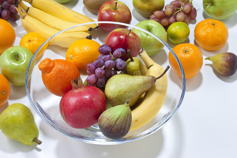 Download Fresh Fruit With Bowl stock photo. Image of clean, good - 30463724