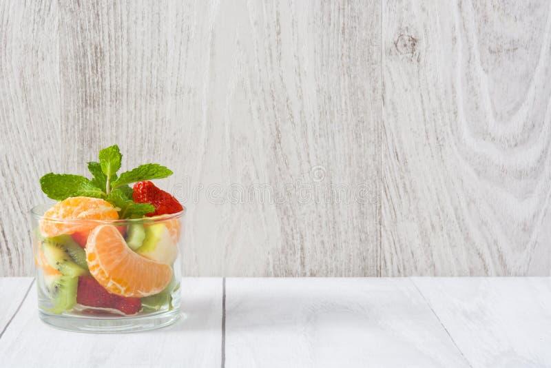 Fresh fruit salad royalty free stock image