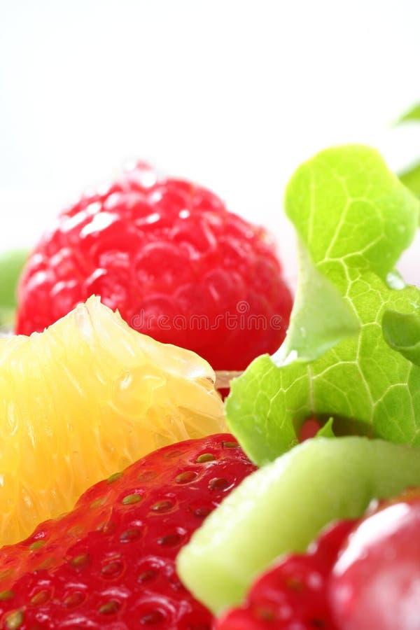 Fresh fruit salas stock photo