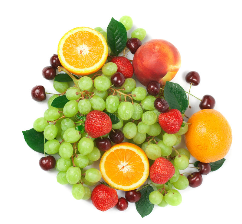 Fresh fruits. Still-life of fresh fruit royalty free stock photography