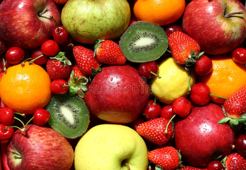 Download Fresh fruits stock photo. Image of appetizer, fruits, gourmet - 2466926