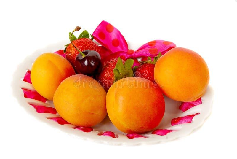 Download Fresh fruits. stock image. Image of white, dish, natural - 29024555
