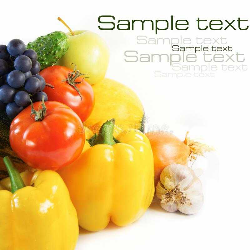 Free Fresh Fruits And Vegetables Royalty Free Stock Images - 21175729