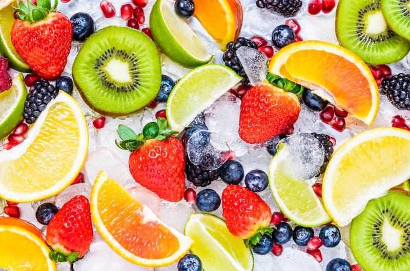 Fresh fruits background. royalty free stock images