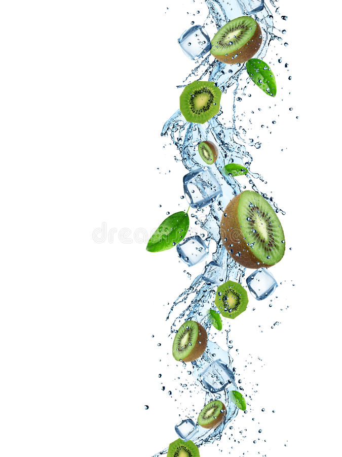 Free Fresh Fruits In Water Splash Stock Images - 42086674