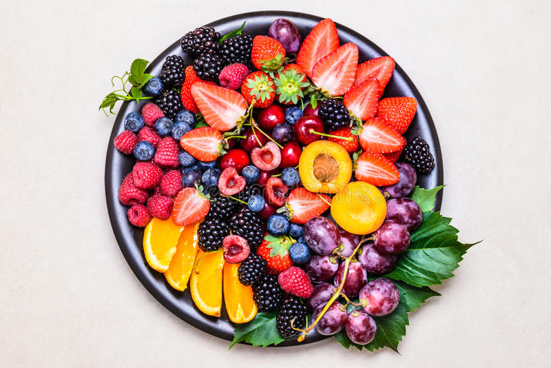 Fresh fruits. royalty free stock photo