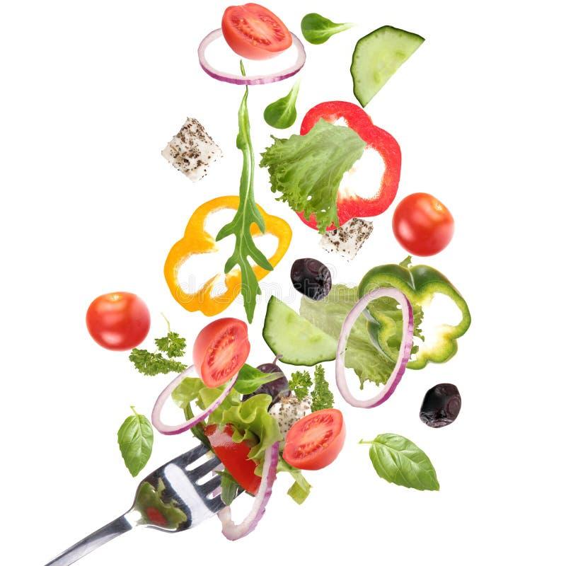 Download Fresh garden salad stock image. Image of eating, onion - 18653147