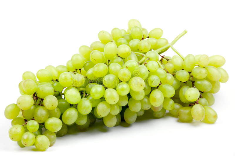 Fresh grape fruits isolated royalty free stock photos