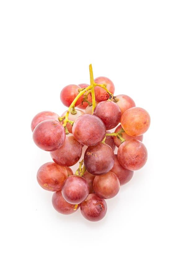 fresh grape on white background stock photo