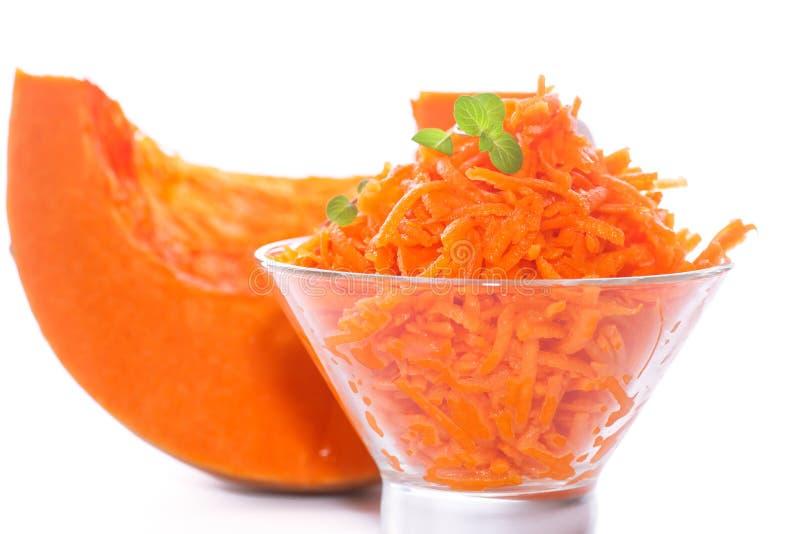 Download Fresh Grated Pumpkin Stock Photo - Image: 83713722