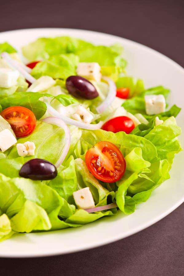 Fresh Greek salad royalty free stock photography