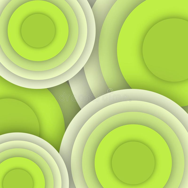 Fresh green circle pattern- business picture poster, super quality. Very high quality vector graphics. On this picture you can see motivational slogan an stock photography