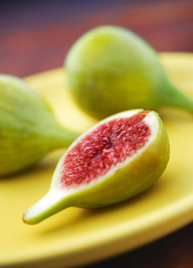 Download Fresh Green Figs stock photo. Image of green, macro, purple - 12546246