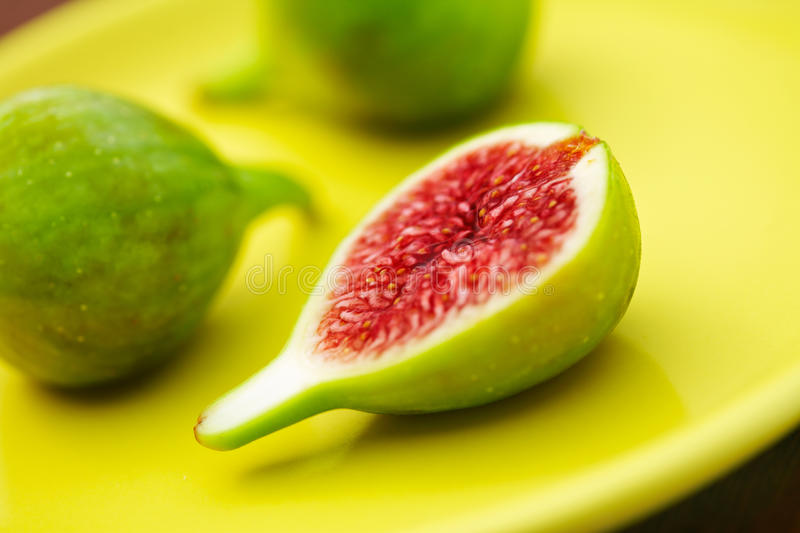 Download Fresh Green Figs stock image. Image of elegant, climate - 12619931