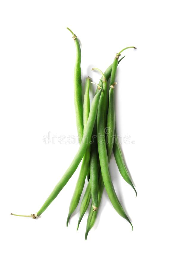 Free Fresh Green French Beans Stock Photography - 121432752