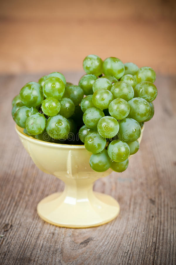 Fresh Green Grapes Royalty Free Stock Images